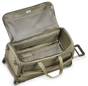 Briggs & Riley Baseline Duffel Bag UWD129 open view