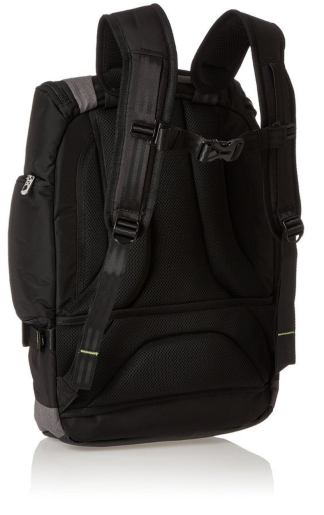 Briggs & Riley Excursion Backpack back view