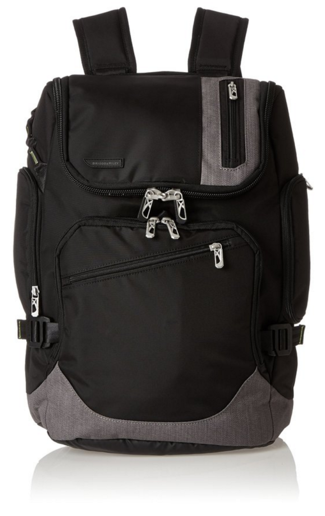Briggs & Riley Excursion Backpack front view