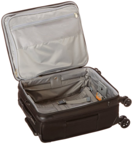 Briggs & Riley International Carry-On Expanadable Spinner inside view.fw