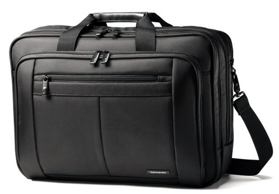Samsonite Three Gusset Lg Toploader front view