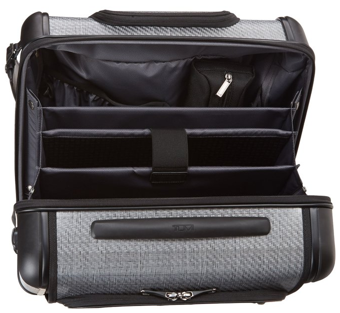 Tumi Tegra Lite Max Carry-On 4 Wheel Briefcase inside view