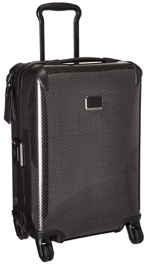 Tumi Tegra-Lite X Frame International Carry On stand up view