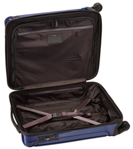 Tumi Vapor Lite International Slim Carry-On inside view