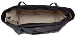 Tumi Voyageur Q-Tote inside view