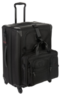 tumi alpha 2 front and side view