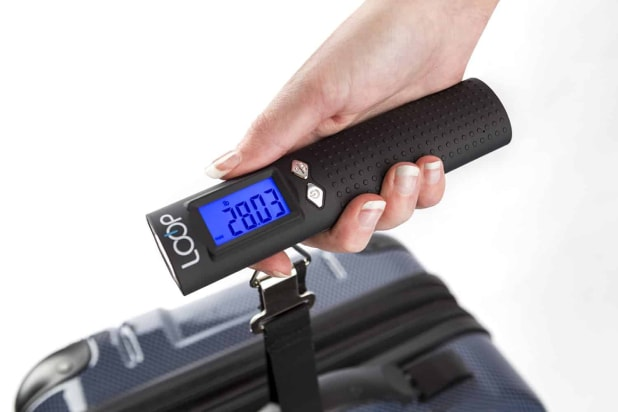 Loop luggage scale